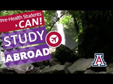 University of Arizona Study Abroad EXPO for pre-health students