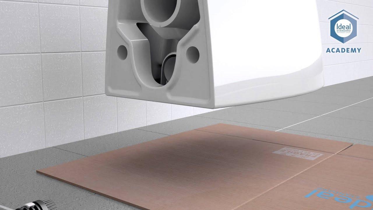 Sanitari Scala Ideal Standard ideal standard invisible fixation installation