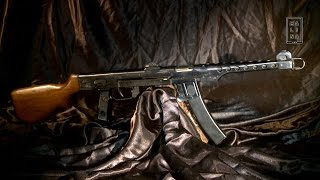 Оружие времён Второй мировой войны: пистолет-пулемёт Судаева
