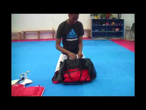 How To Put Your Sparring Gear Inside The Bag