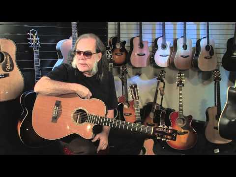 David Lindley and Takamine Guitars