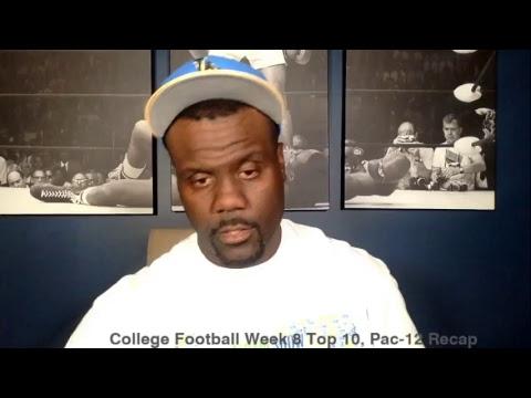 Pac-12 Recap, College Football Week 8 Top 10, Mike Leach vs Pac-12