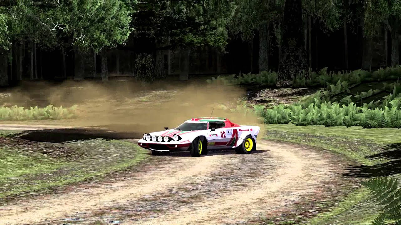 DTM Race Driver 3 [HD] UK Rally Stage 1 Lancia Stratos replay ...