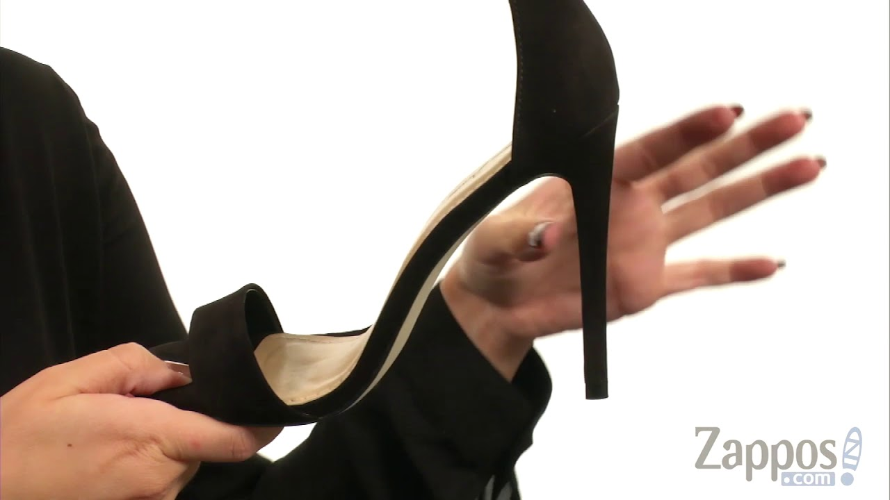 9660381d9c Massimo Matteo Open Toe Strap Pump SKU: 8979473 - YouTube