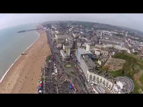 mayday run 2014 from above hastings