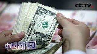 [中国新闻] 新闻观察:中国外汇储备经营长期保持稳健 | CCTV中文国际