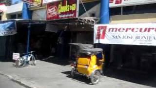 フィリピン、「サン・ホセ」の町並