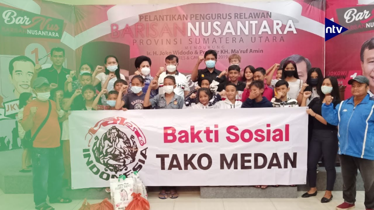 PB Tako Indonesia Dukung Visi Misi Bobby-Aulia
