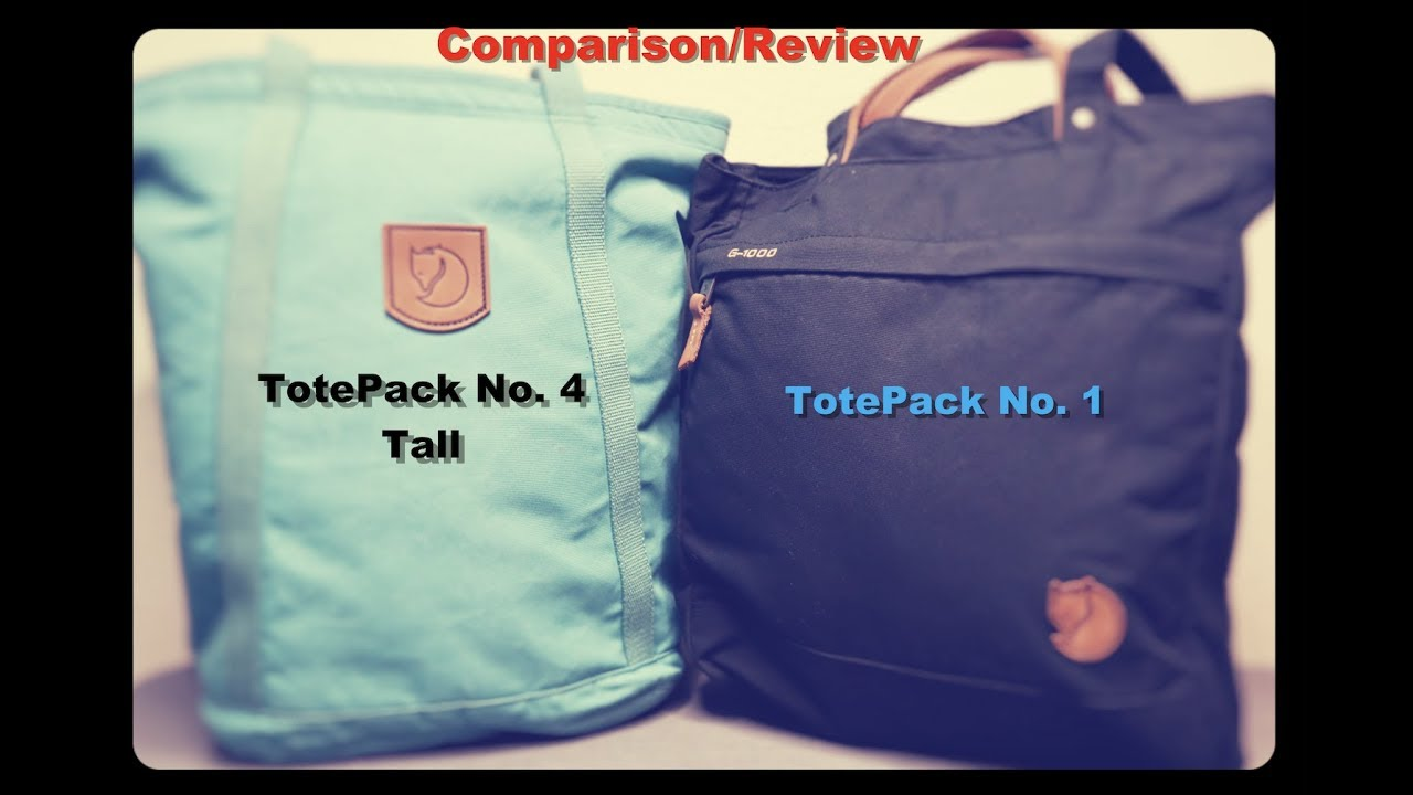 Fjällräven Totepack No.4 Tall Tote Bag Best Price   Compare