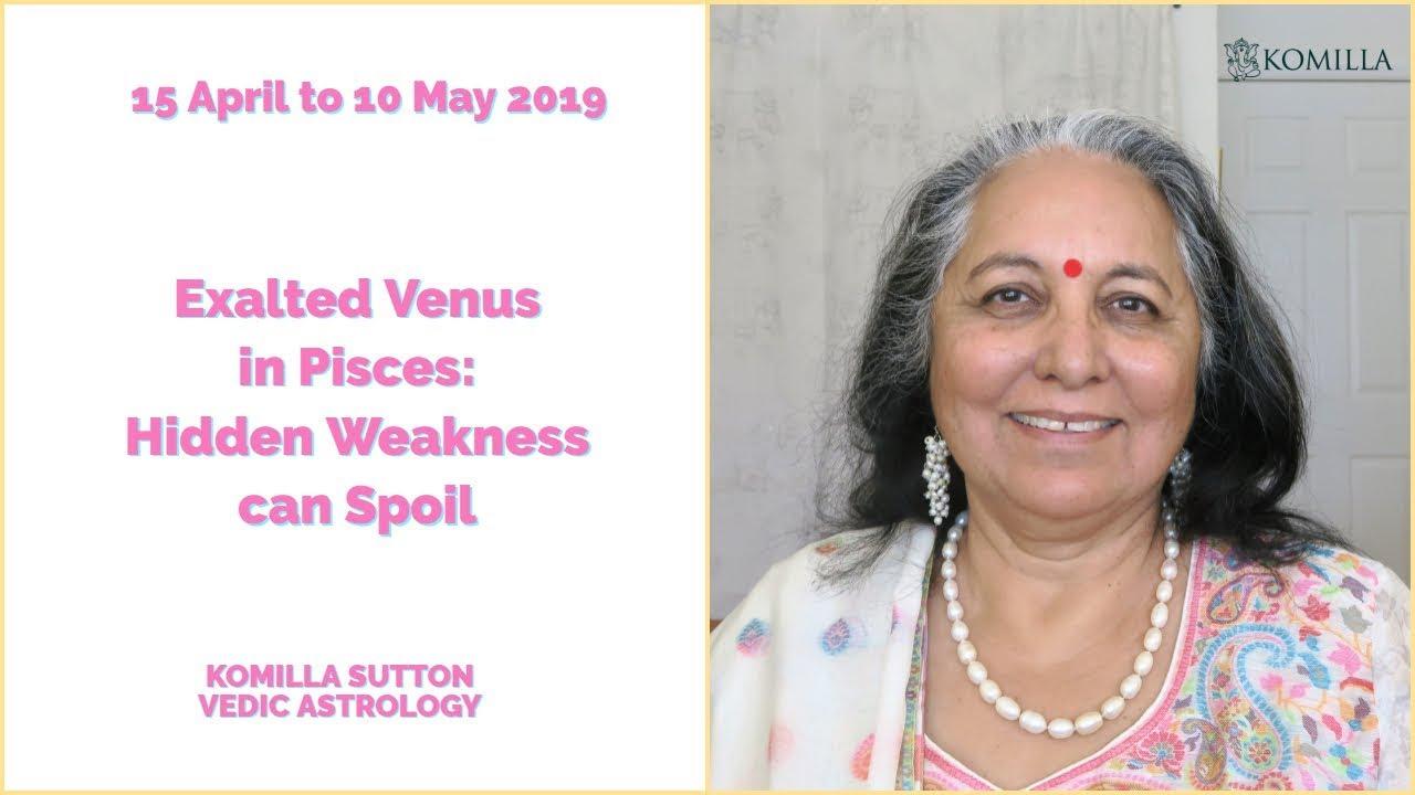 Venus In Pisces Man Vedic Astrology