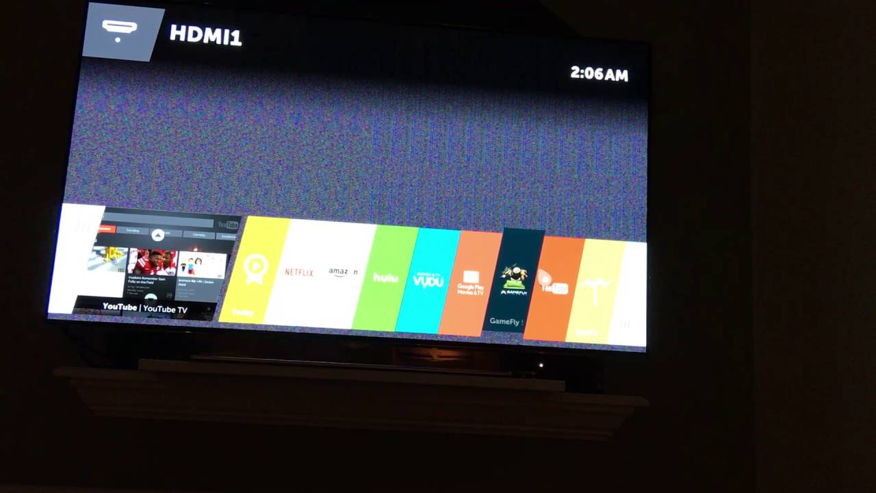 Lg OLED Smart Tv Having Trouble with Screen issues