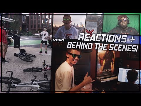 NERDBEAM GAMING DISS TRACK BEHIND THE SCENES & REACTING TO REACTIONS OF MY DISS TRACK!