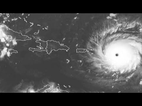 Powerful Hurricane Irma Approaches NE Caribbean