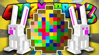 Minecraft CRAZY CRAFT 3 'EASTER BUNNY HUNT!' #15 (Orespawn Mod)