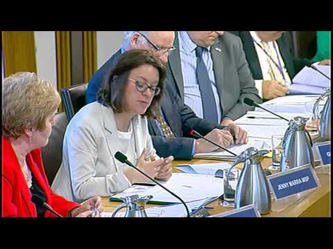 Justice Committee - Scottish Parliament: 16th June 2015