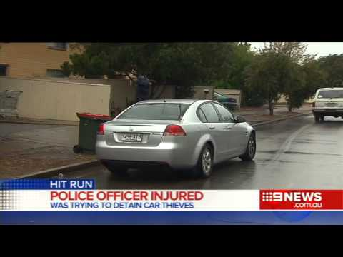 Police Hit-Run | 9 News Adelaide