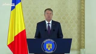 Iohannis răspunde lui Dodon