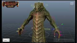 Character Rigging Reel - Dungeons & Dragons Online