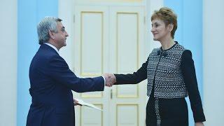 Սերժ Սարգսյանն ընդունել է Բուլղարիայի նոր դեսպանի հավատարմագրերը