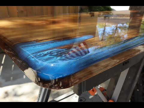 How to sand and Polish Epoxy Resin!