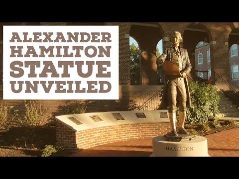 New Alexander Hamilton Statue Unveiled - US Coast Guard Academy
