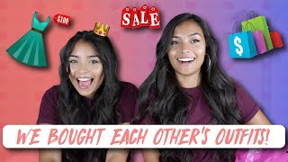 I LET MY SISTER PICK OUT MY OUTFIT CHALLENGE!! w/ Montoya Twinz