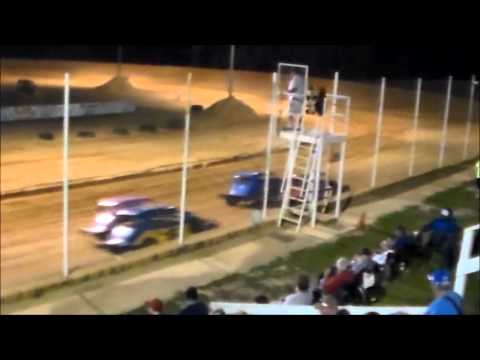 Southern Vintage Racing Association 5/23/15 Heat Races Northwest Florida Speedway