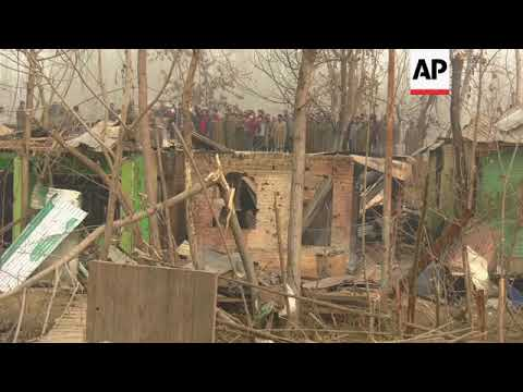 Anti-India clashes erupt in Indian-controlled Kashmir