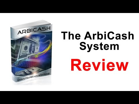The ArbiCash System Review - The ArbiCash System Scam ? | Brian Review