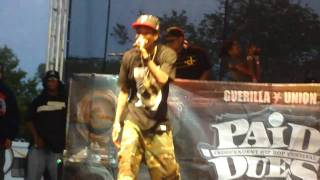 Wiz Khalifa The Kid Frankie & Never Been Live@ Rock The Bells 2010