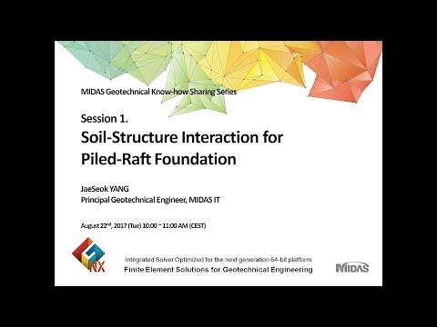Soil-Structure Interaction for Piled-Raft Foundation