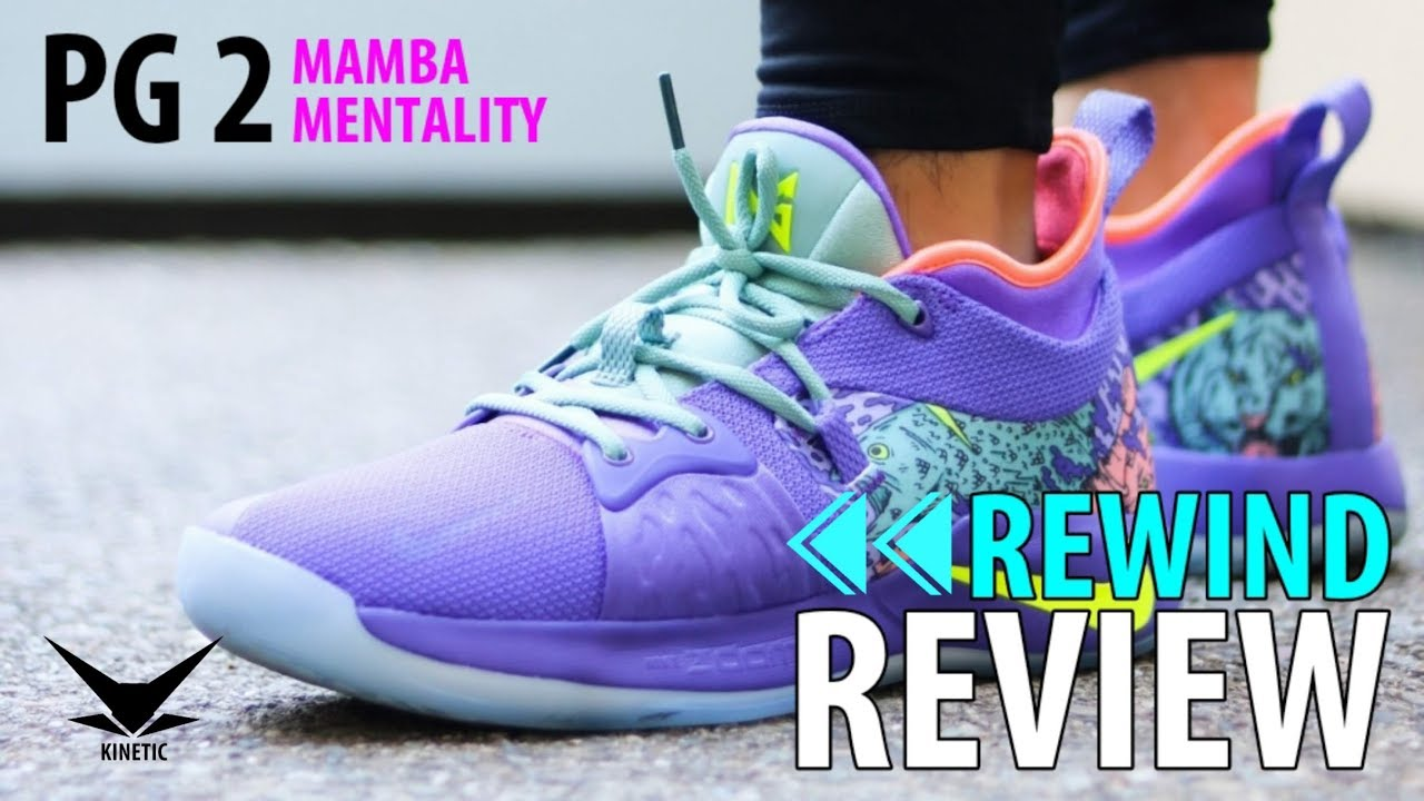b849aaf73ed2 Nike PG 2 Mamba Mentality On Feet Review - Kinetic Collections Vlog ...
