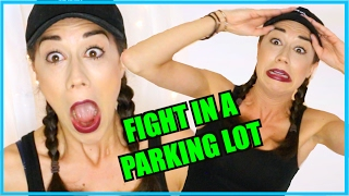 MY SISTER FOUGHT A JERK FOR ME IN A PARKING LOT
