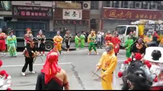 2017年九龍城天后誕英歌舞表演