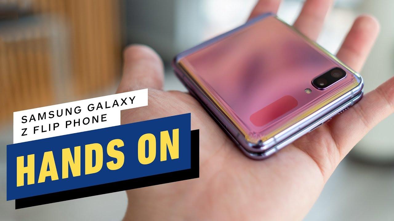 Aperçu pratique du Samsung Galaxy Z Flip + vidéo