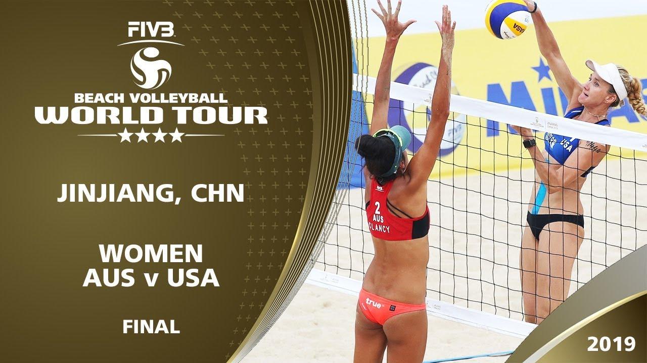 Women's Gold Medal: AUS vs USA | 4* Jinjiang (CHN) - 2019 FIVB Beach Volleyball World Tour