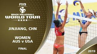LIVE 🔴 - Women's Final - FIVB Beach Volleyball World Tour - Jinjiang (CHN) - 4* thumbnail