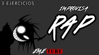 3 EJERCICIOS RÁPIDOS Y EFICACES PARA APRENDER A IMPROVISAR RAP!! thumbnail