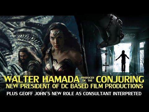 Walter Hamada New President of DC Based Film Productions