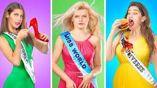 أنواع الناس فى مسابقه ملكه الجمال