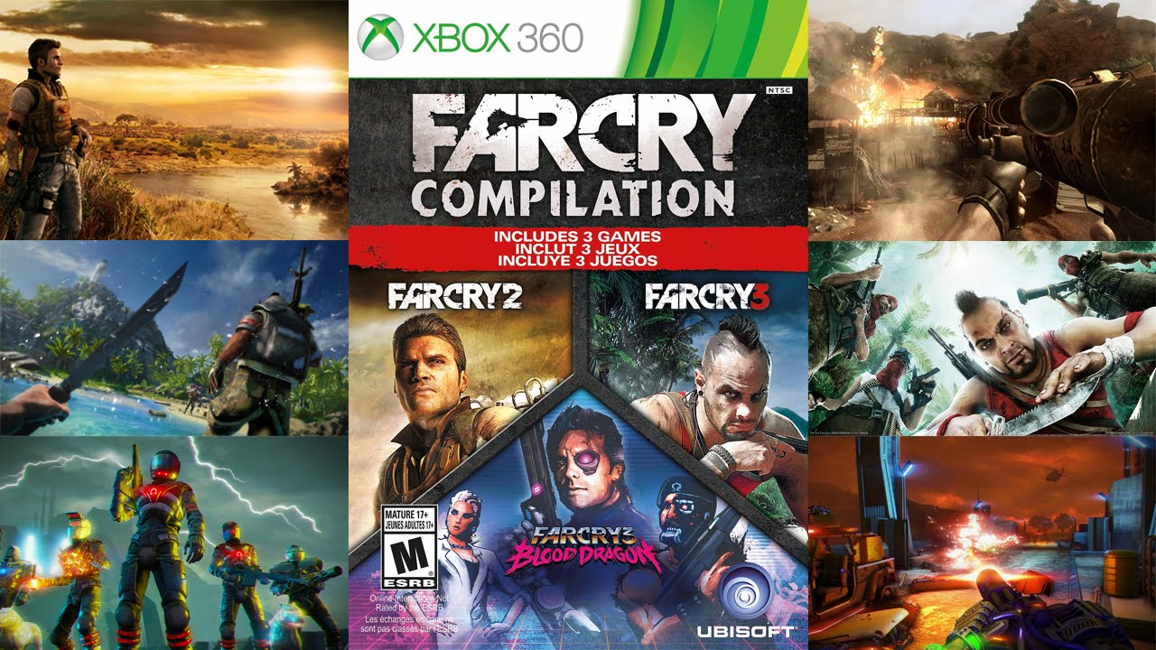Far Cry Compilation Unboxing And Review Youtube