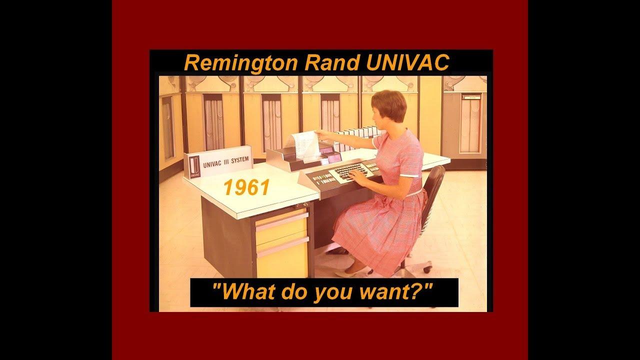 38d3811d91 1961 Remington Rand UNIVAC