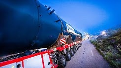 [Convoi Exceptionnel Capelle ] Transport d'un réacteur chimique à Martigues