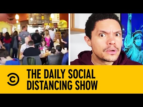Colorado Restaurant Opens Illegally During Lockdown   The Daily Show With Trevor Noah