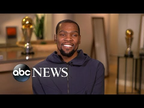 Kevin Durant opens up about his new ESPN series | GMA