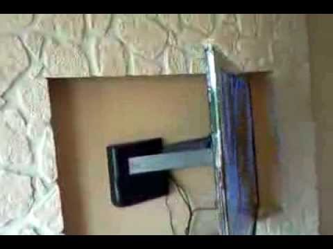 Support tv mural slim motoris vogel 39 s thin rc 355 doovi - Support tv mural motorise orientable inclinable ...