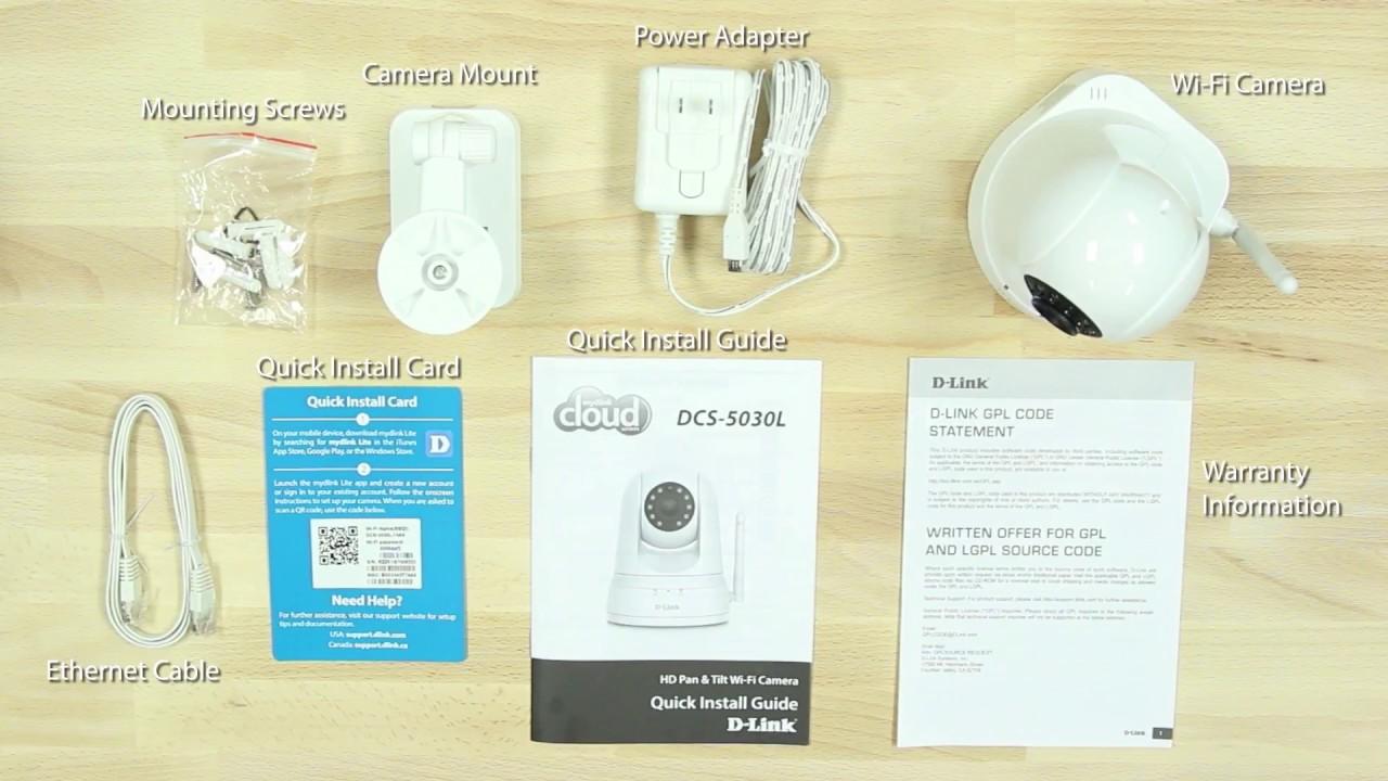 8586dfbfc How to Set Up the HD Pan   Tilt Wi-Fi Camera (DCS-5030L). D-Link USA