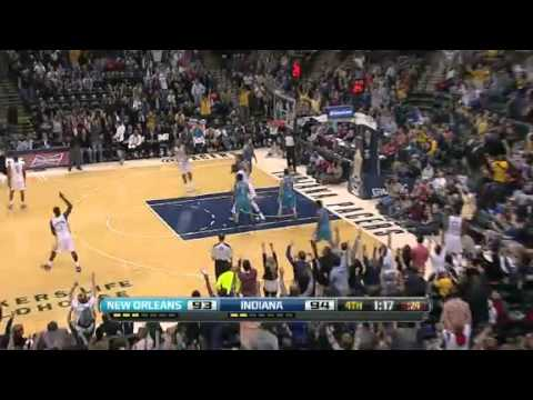 Indiana Pacers & New Orleans Hornets / 21.11.2012 / Highlights