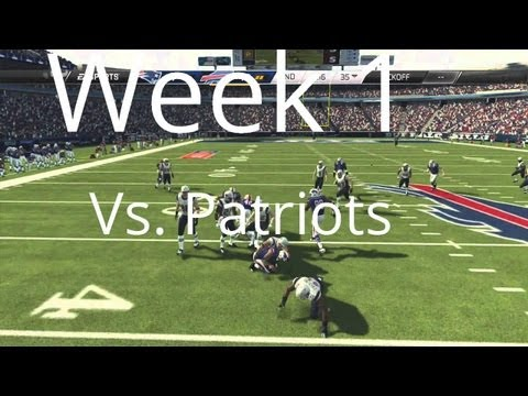 Buffalo Bills | Madden 25 Franchise - Week 1 vs. New England Patriots - Season One (Ft. Tom Brady)