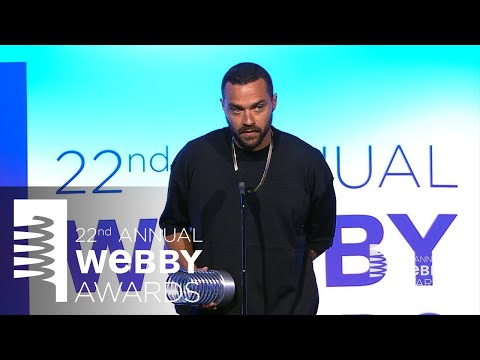 Jesse Williams' 5-Word Speech at the 22nd Annual Webby Awards .